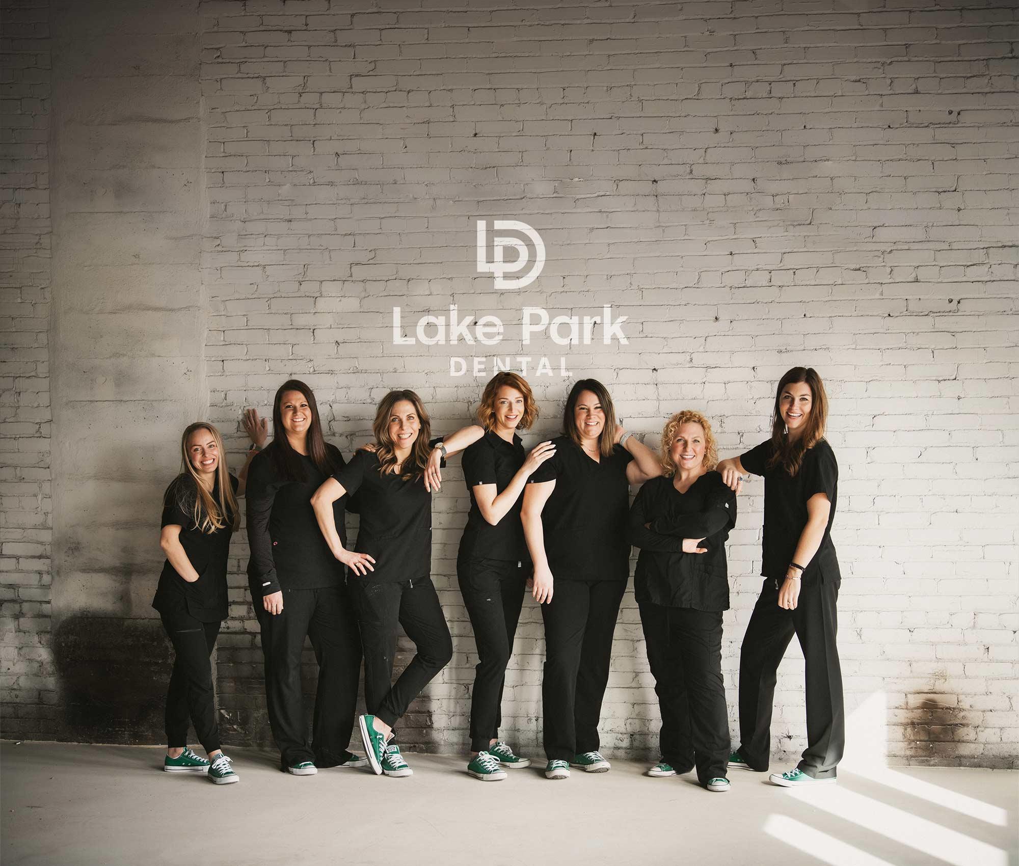 Lake Park Dental team photo