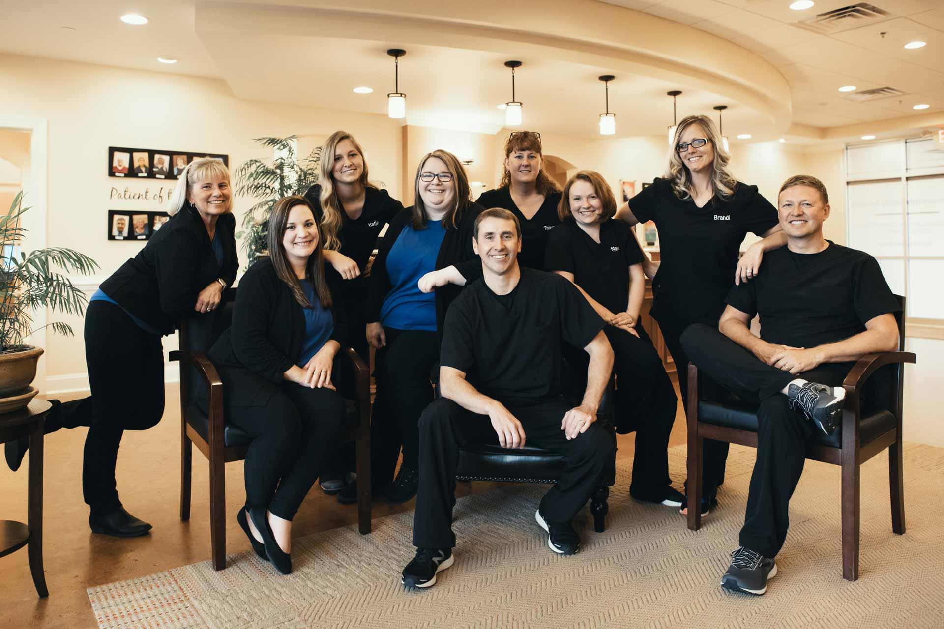 Photo of the Shenandoah Family Dentistry team