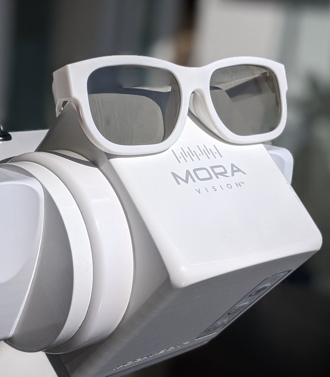 Laser Tool with sunglasses