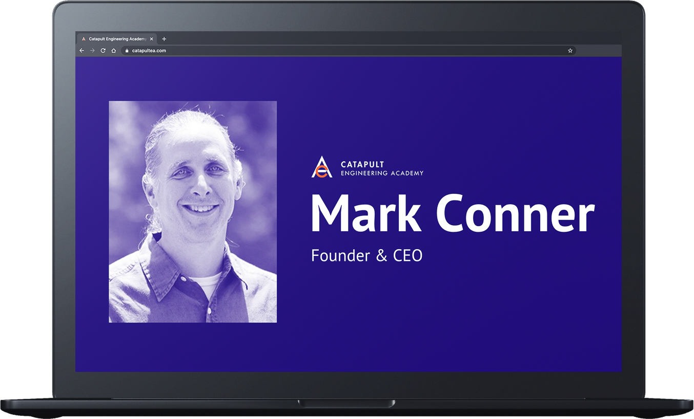 Headshot of Mark Conner, Catapult's founder and CEO