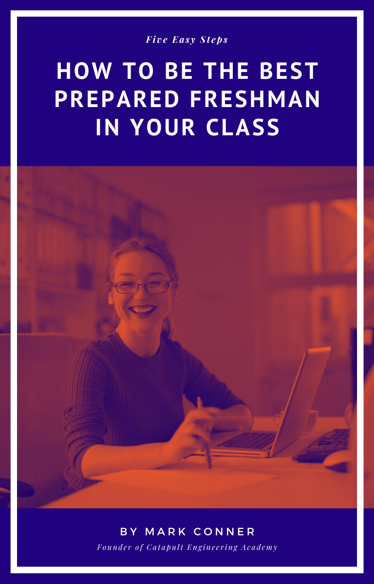 How to be the best prepared freshman in your class ebook cover