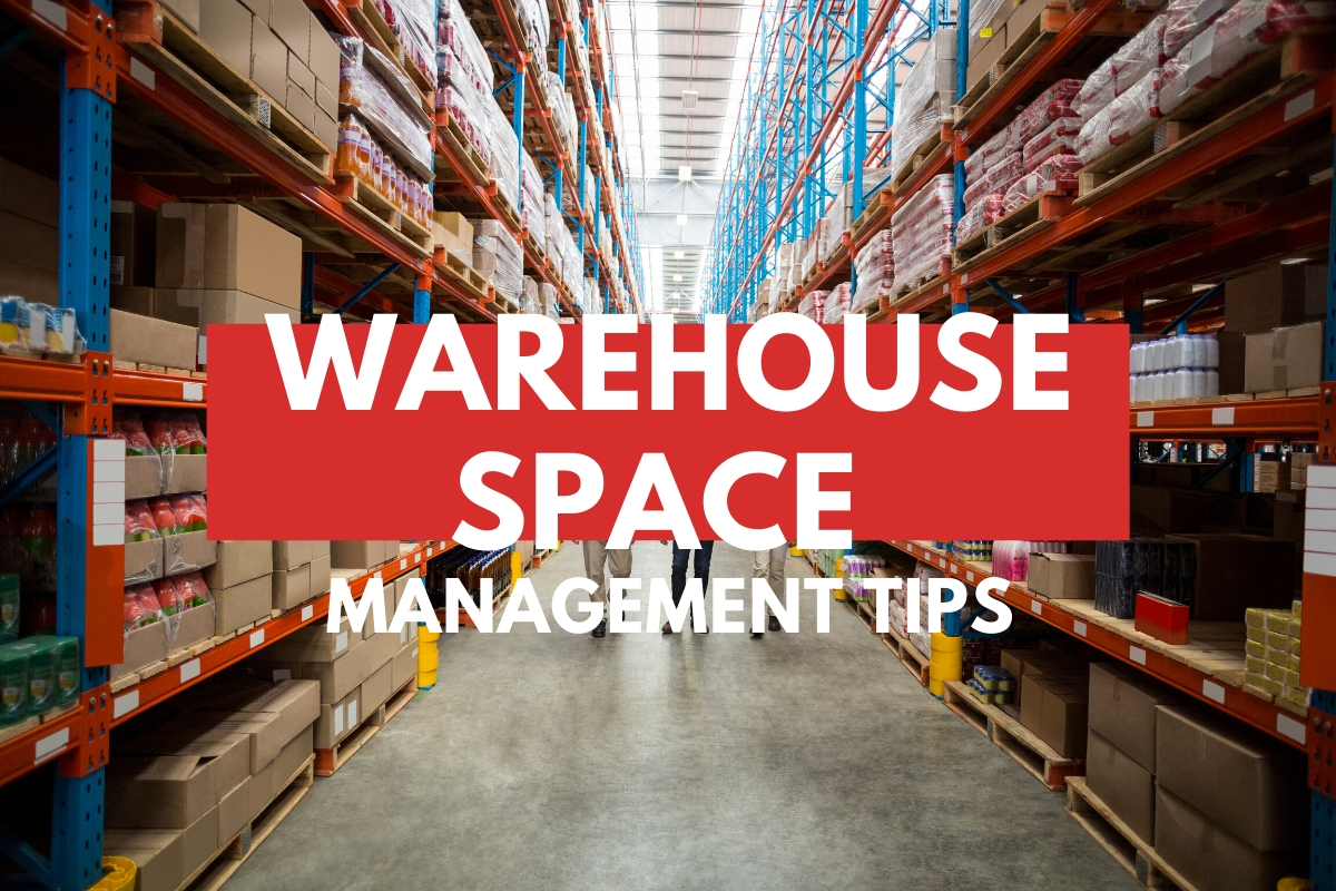 Warehouse background - Warehouse Space Management Tips