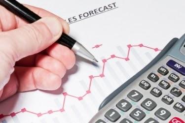 Sales Forecasting Graphic