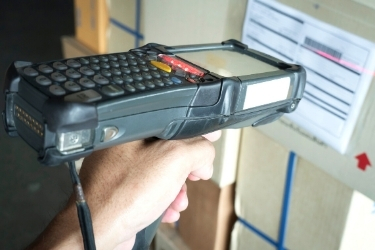 Barcode scanner warehouse management