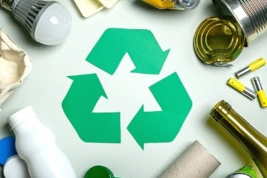 Recycle symbol - Go Green