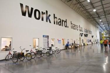 "Inside Amazon warehouse: ""Work hard. Have Fun. Make History."