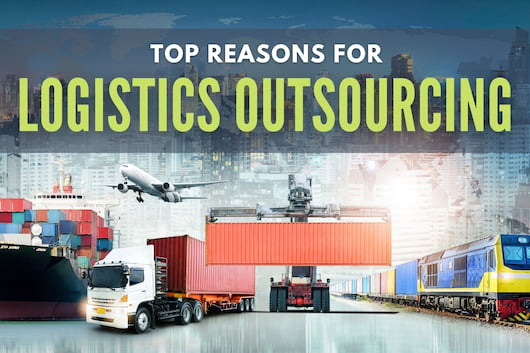 Top Reasons for Logistics Outsourcing - Different types of transportation