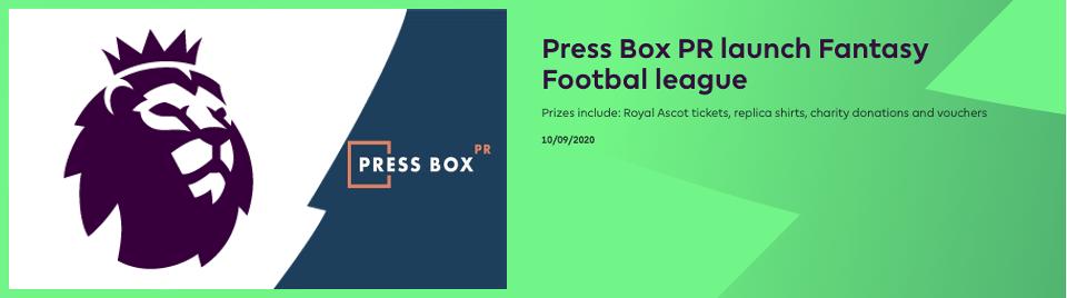 Fantasy Football Press Box Pr
