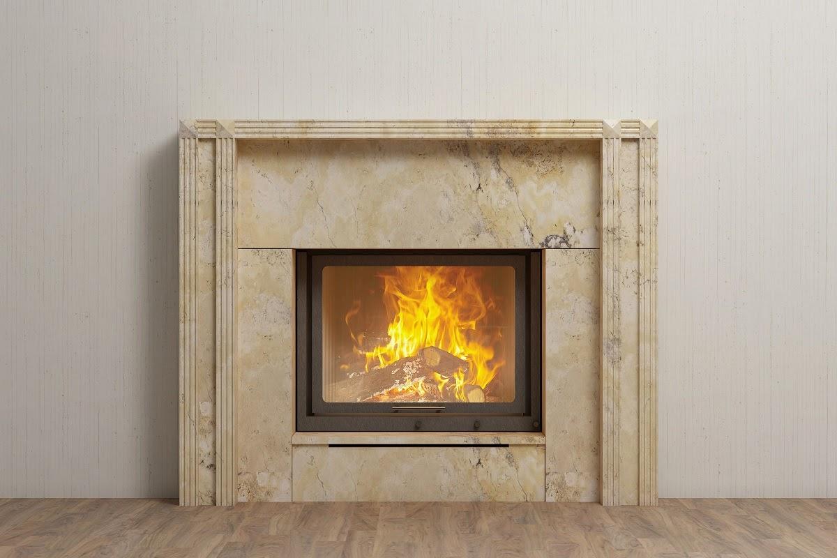 fireplace surround quartz