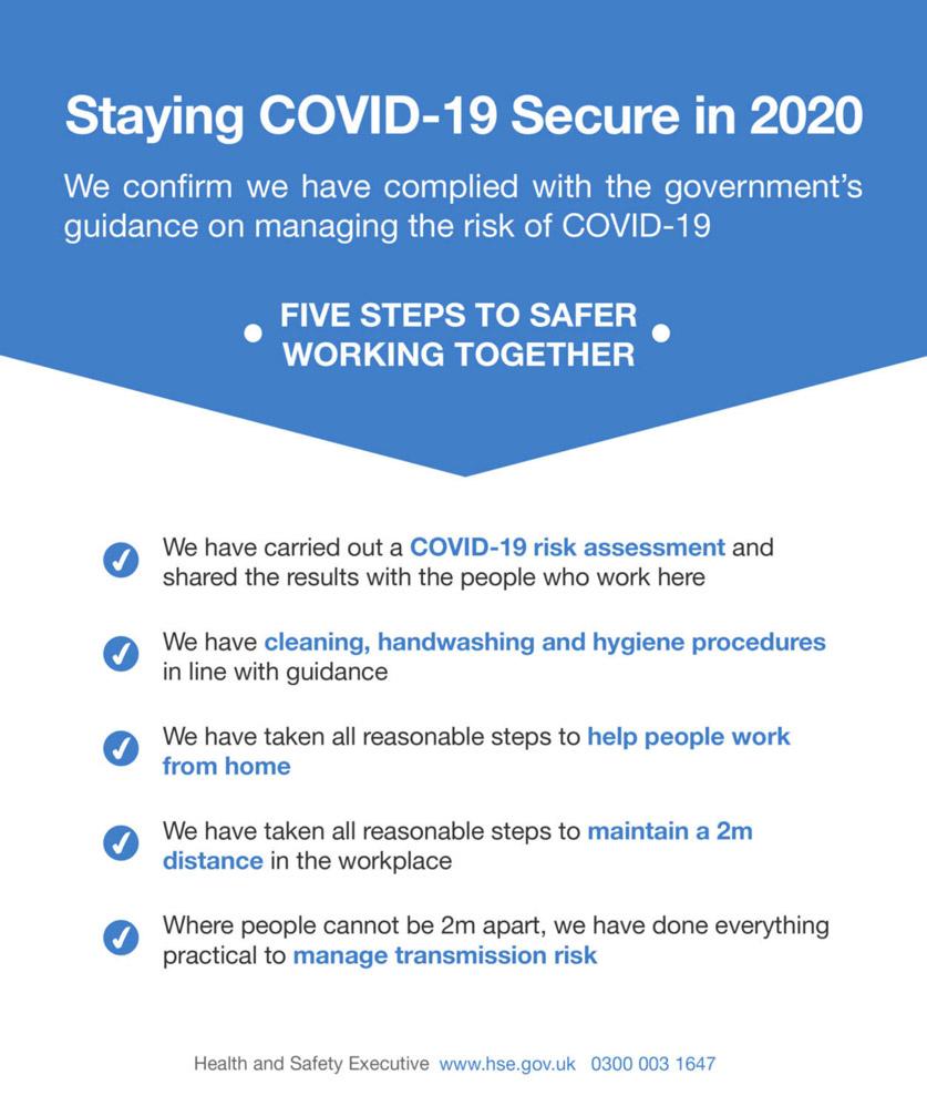 COVID Compliance Certification