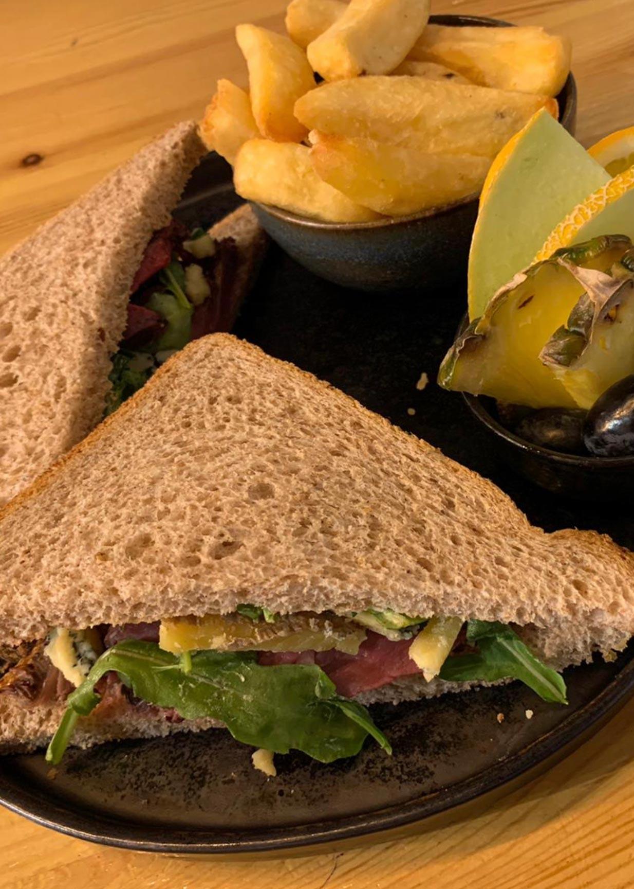 Buckler Beef Sandwich