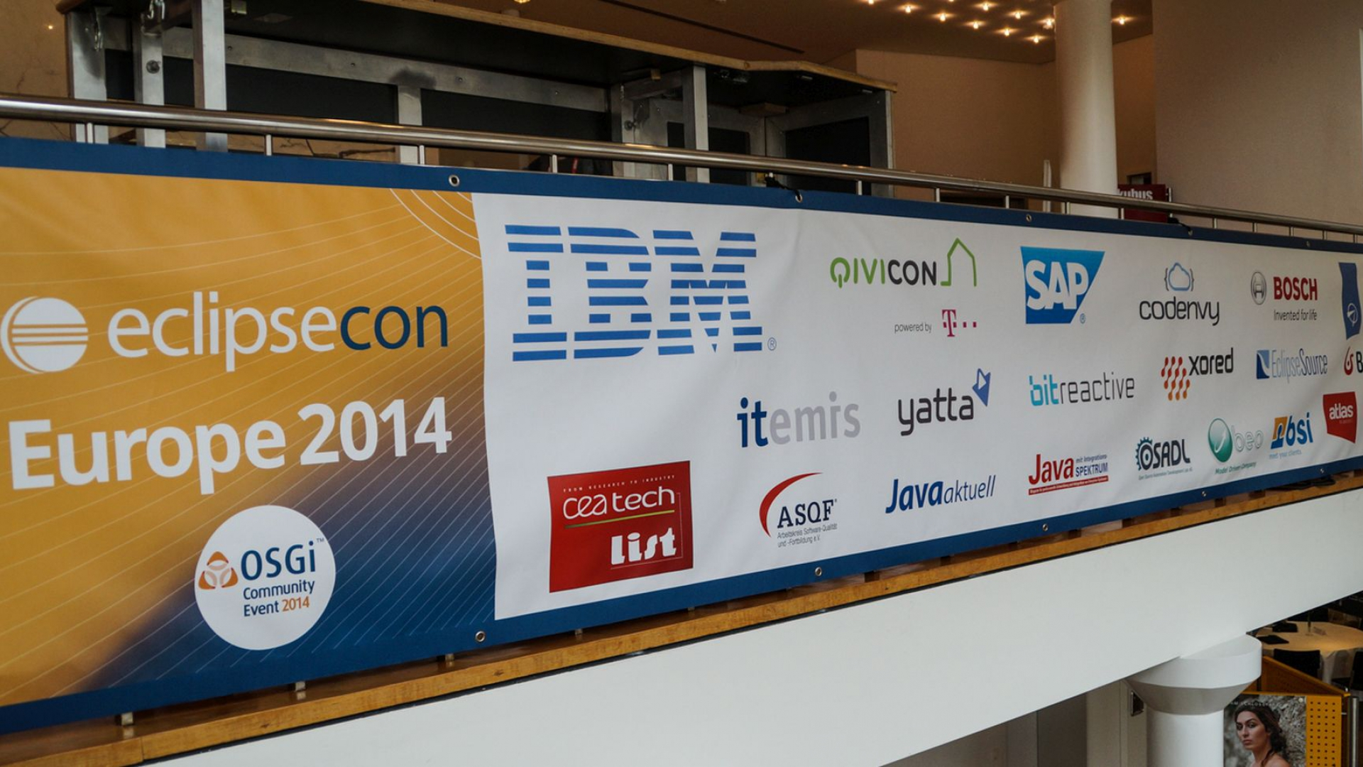 Participation at EclipseCon Europe 2014