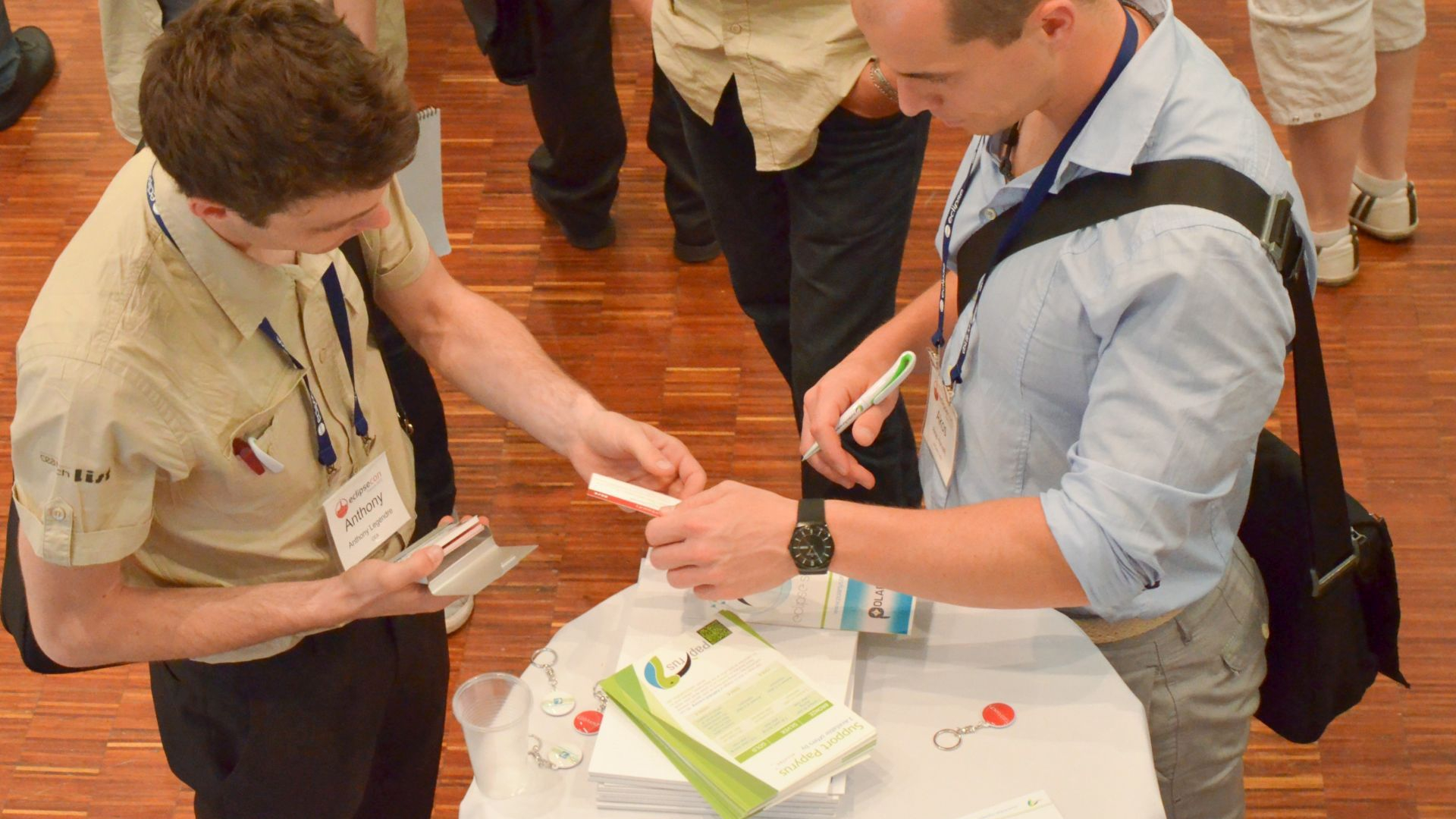 Participation at EclipseCon France 2015