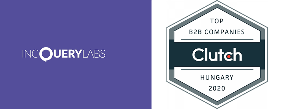 IncQuery Labs listed among the most highly-rated B2B leaders in Hungary for 2020 by Clutch
