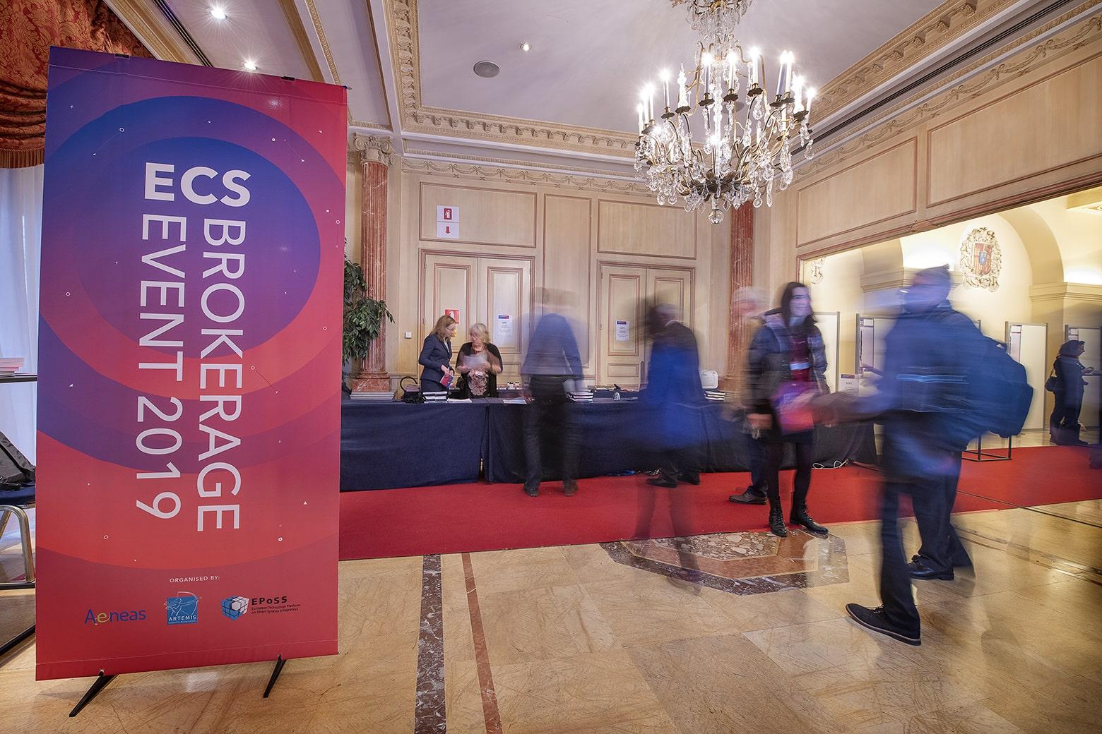 We visited the ECS Brokerage Event