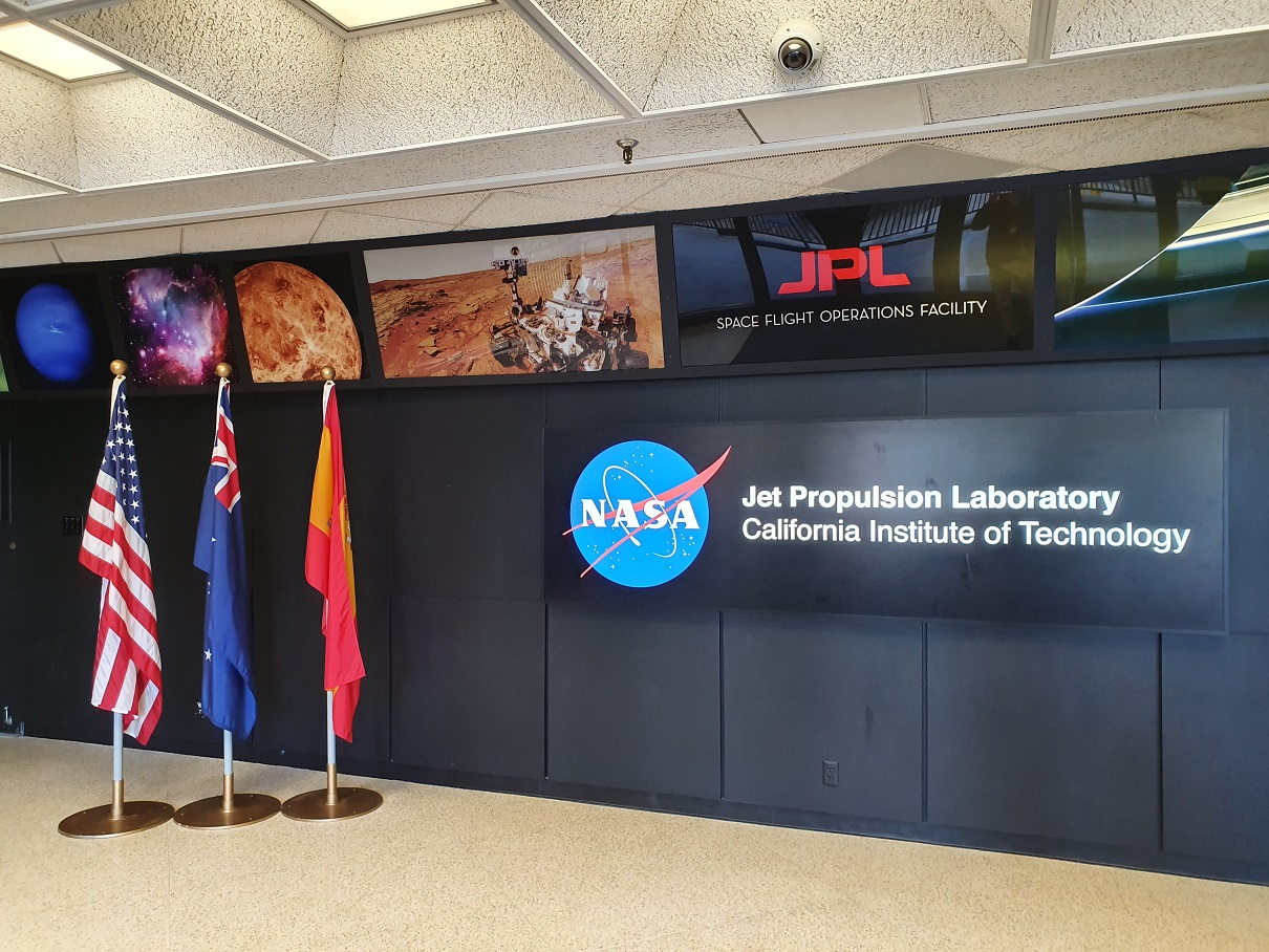 IncQuery Labs goes on a business trip to California and visits NASA JPL