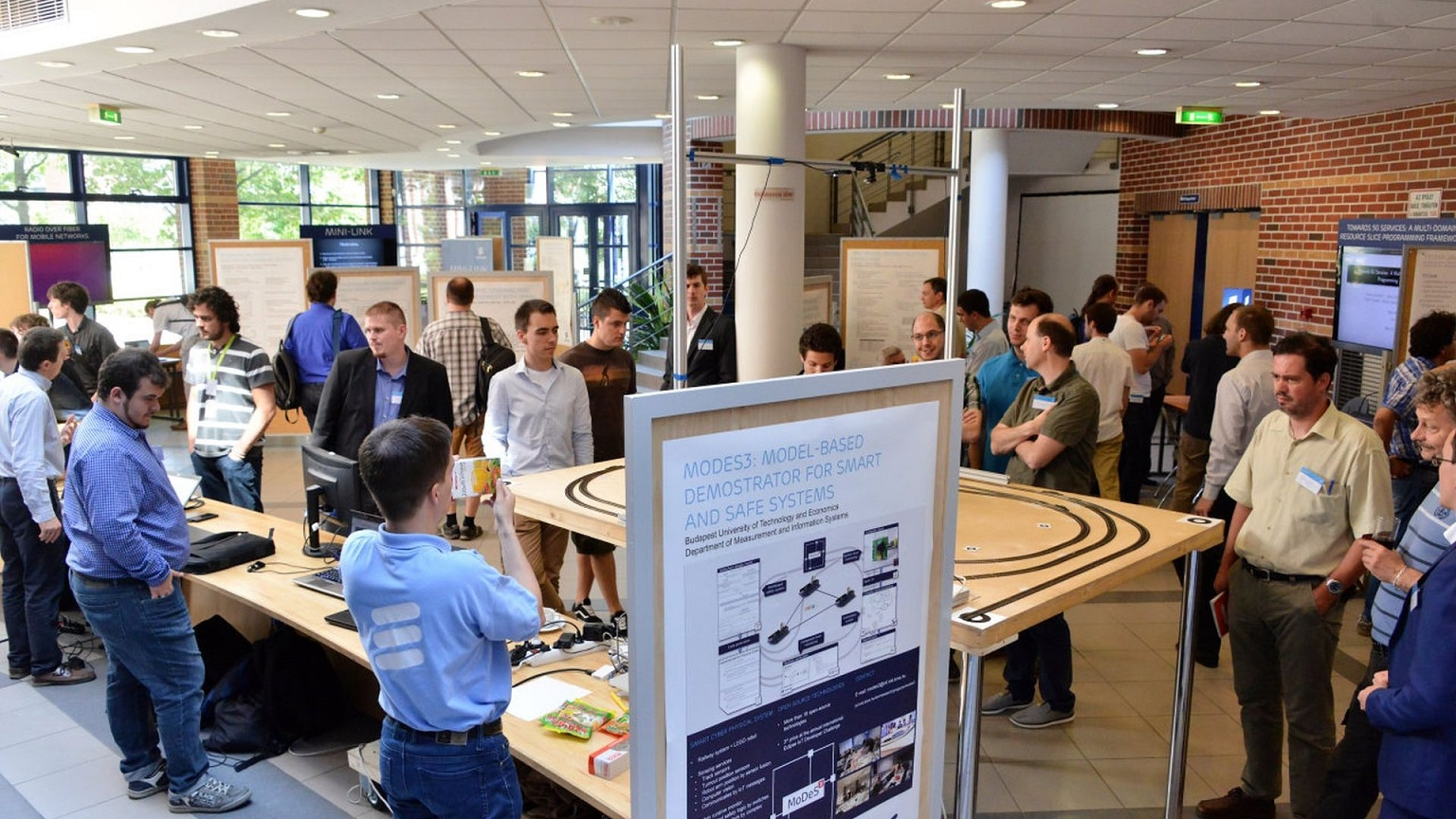 MoDeS3 project presented at Ericsson University Day