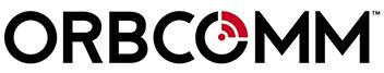 Logo de orbcomm negro