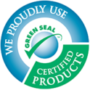 We use Green Seal products