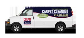 Clean Choice Cleaning & Restoration van