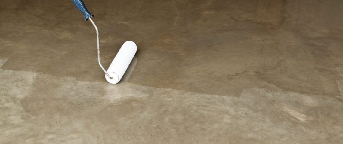 Indoor concrete cleaning in Baltimore