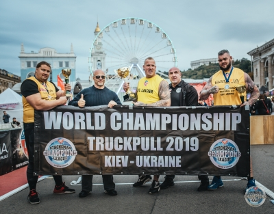 Second time in a row - Kelvin de Ruiter wins the gold in MLO SCL WORLD CHAMPIONSHIP TRUCKPULL 2019