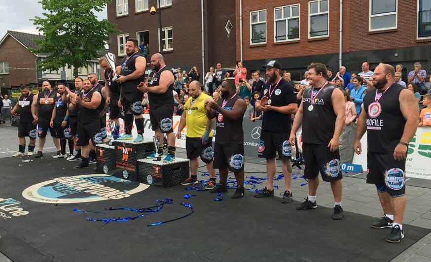 On the rise - Matjaž Belšak keeps winning, this time in MLO Strongman Champions League Holland 2017