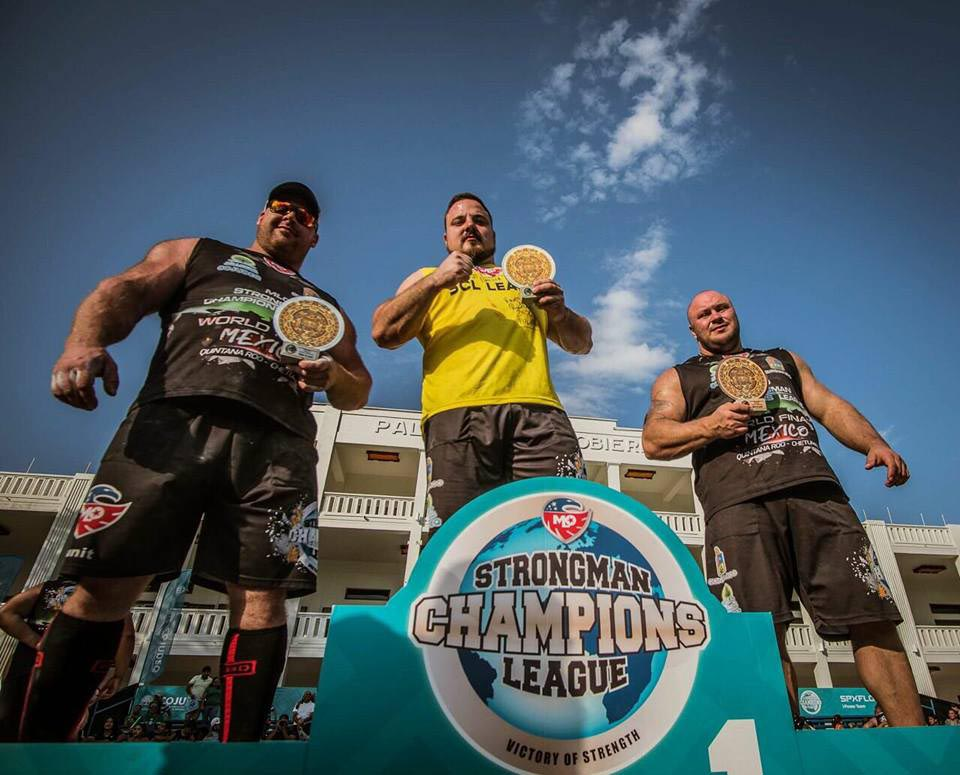 The strongest man alive - after a perfect season, Matjaž Belšak is the new champion of MLO Strongman Champions League 2017