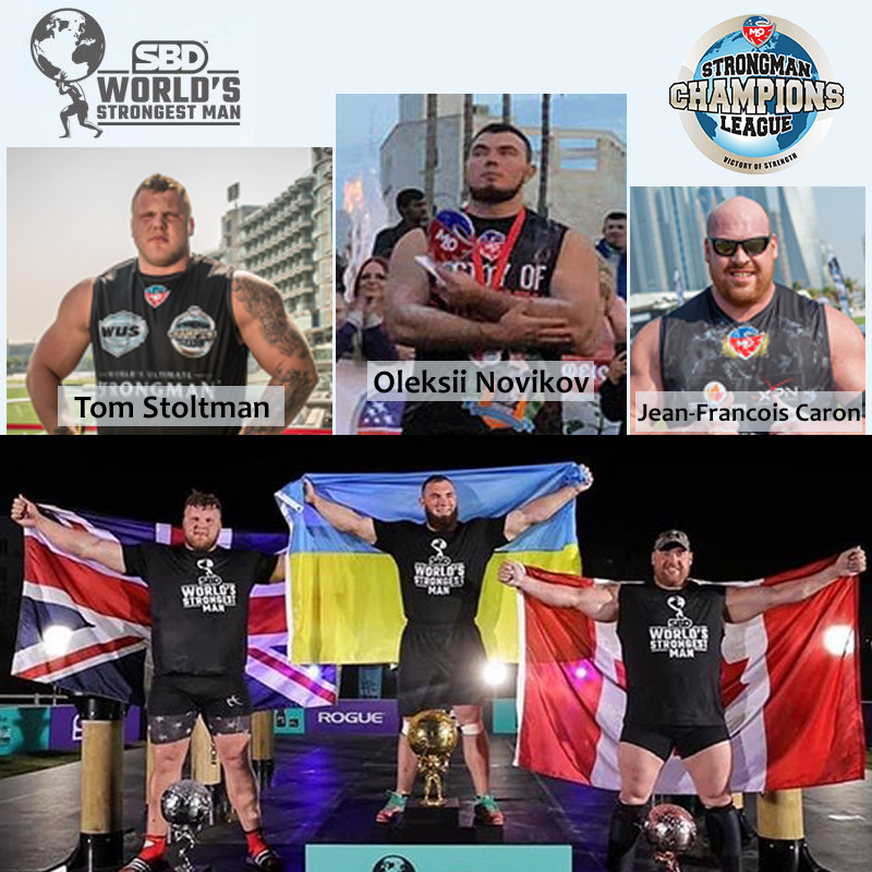 The unstoppable Oleksii Novikov wins World's Strongest Man 2020