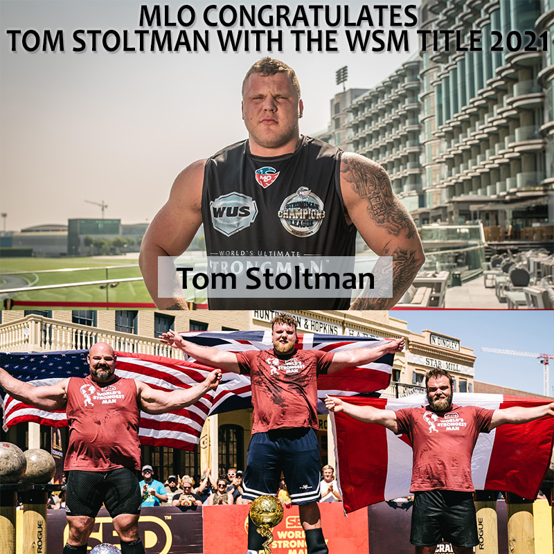 Well-deserved! Tom Stoltman is the strongest man in the world for 2021!