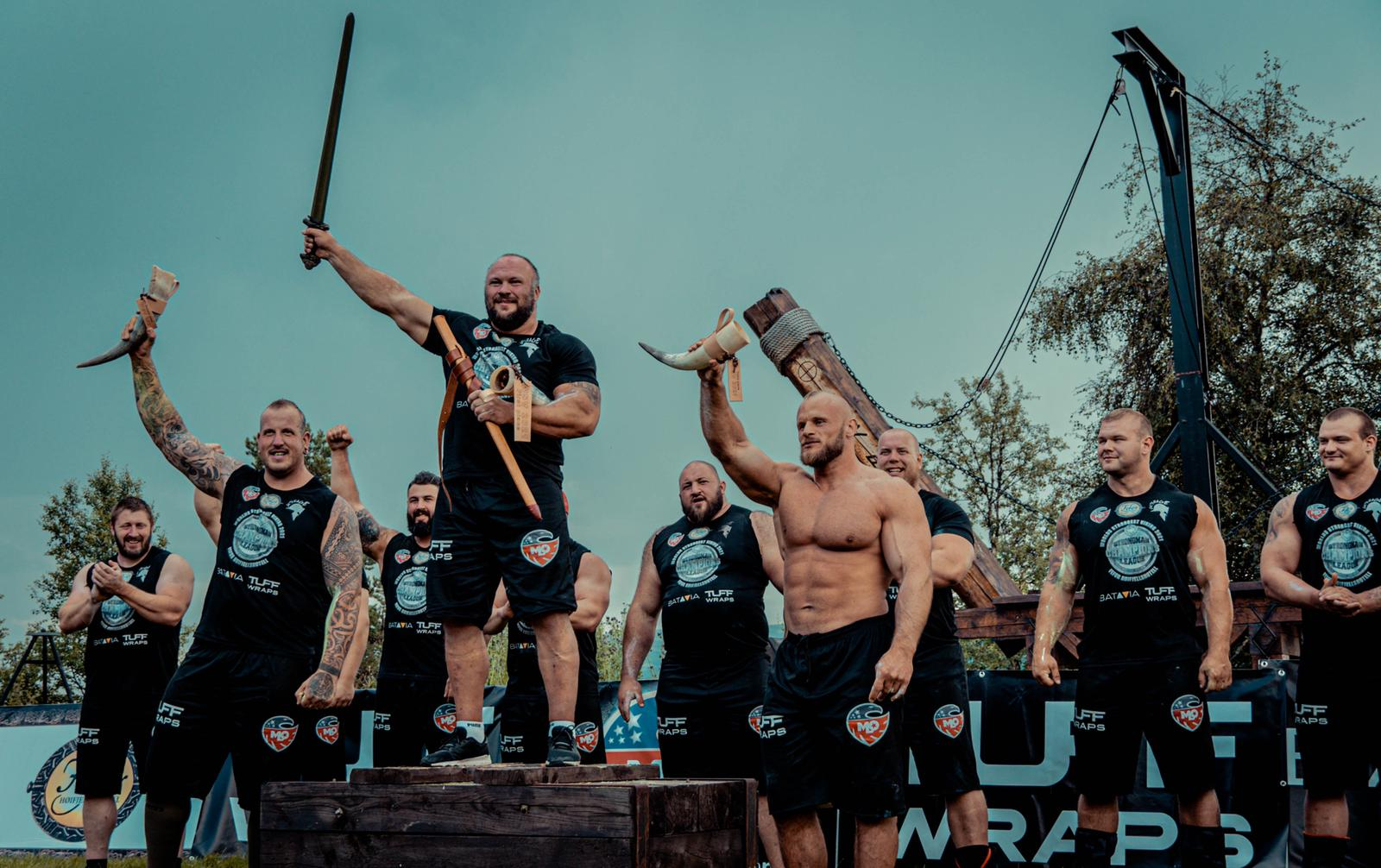 Dainis Zageris will be sporting the crown of MLO SCL World's Strongest Viking 2021