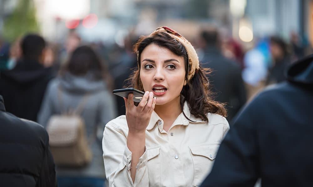 Woman voice identification
