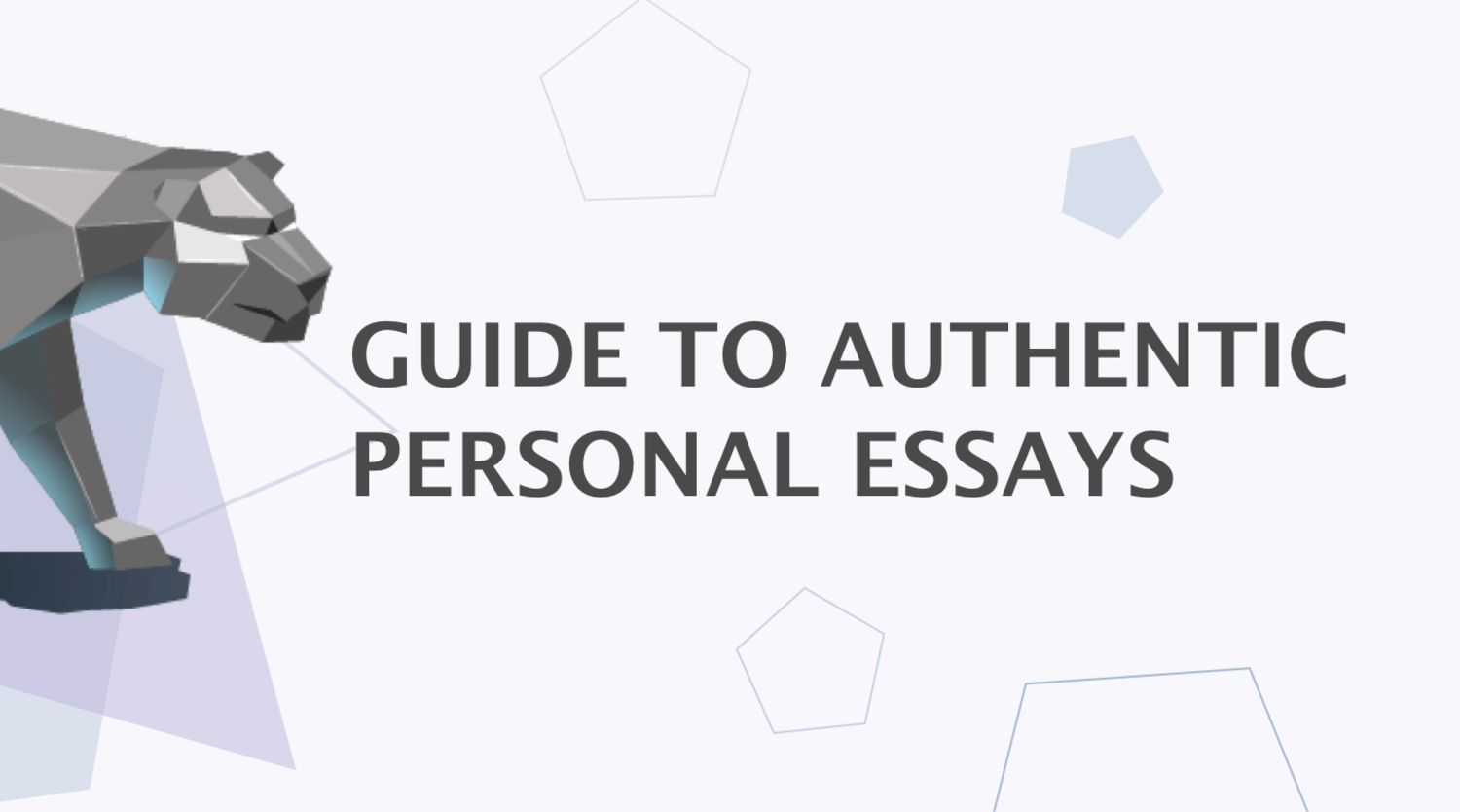 An Extensive Guide on How to Write a Personal Essay