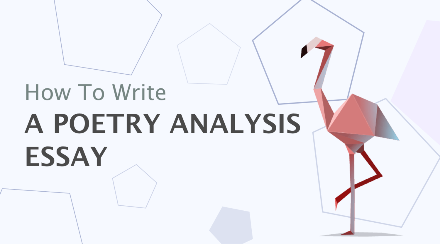 How to Write a Poetry Analysis Essay: Definition, Outline, Examples