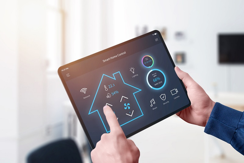 tablet control for an artificial intelligence led smart home