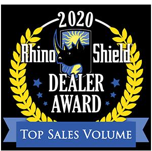 2020 Rhino Shield Top Sales Volume Award