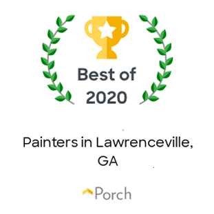 Porch 2020 Best of Painters in Lawrenceville, GA Award