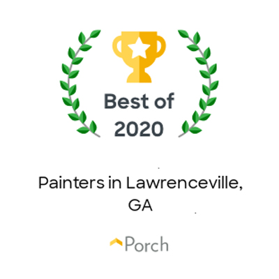 Best Painters in Lawrenceville award