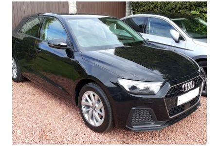 Delighted Client with New Audi A1