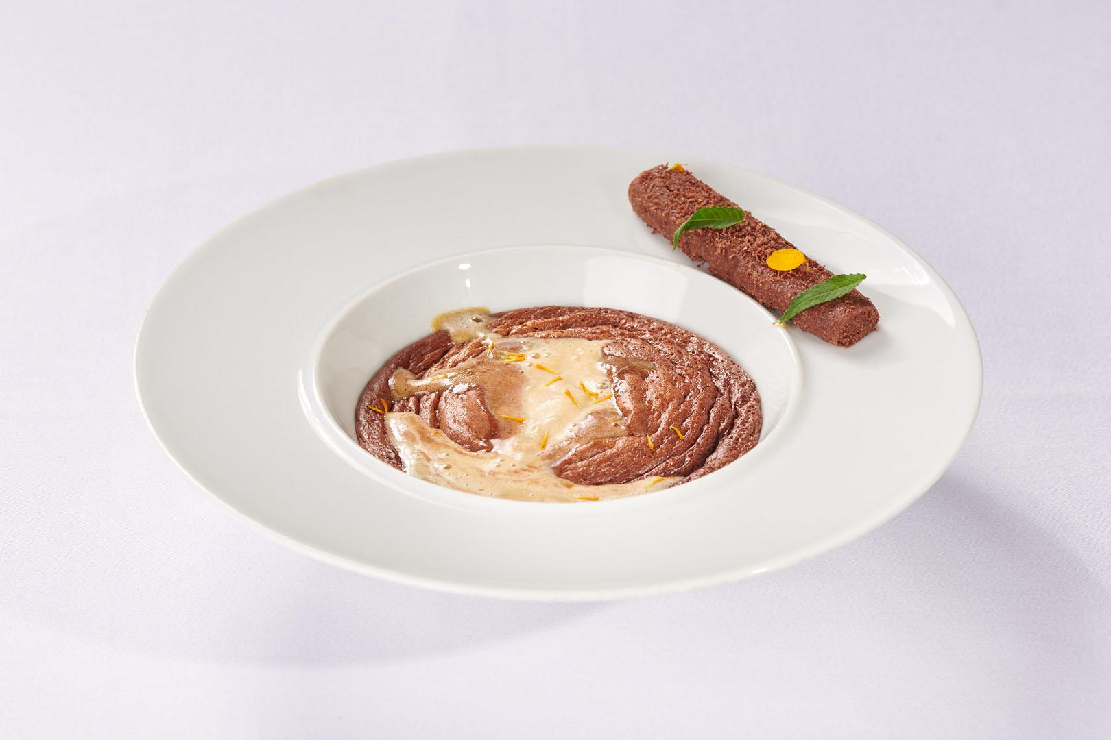 assiette dessert Le Chocolat