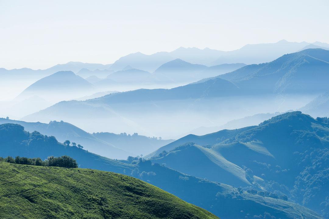 Montañas del País Vasco