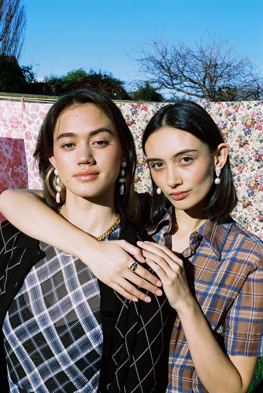 Gemma and Tarsha Orsman wear Meadowlark