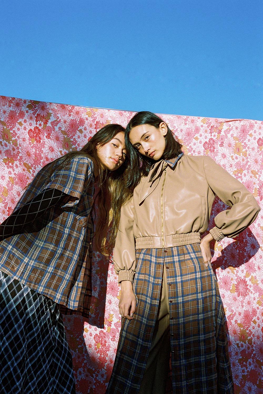 Gemma and Tarsha Orsman wear Kate Sylvester