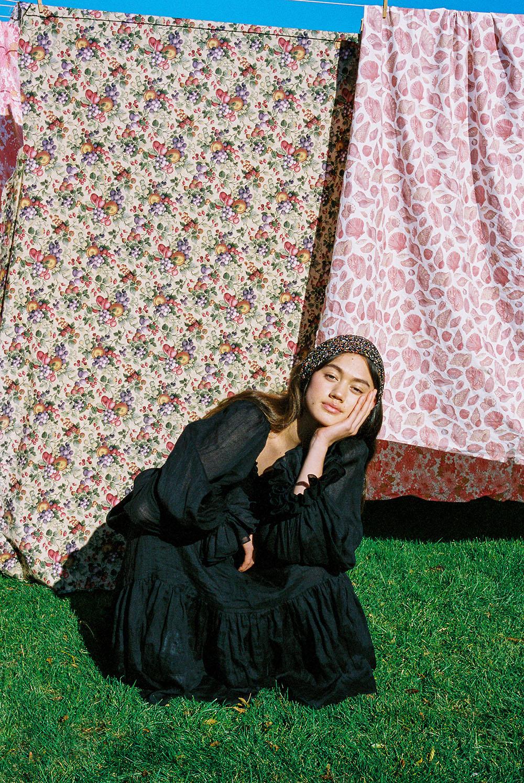 Gemma Orsman wears Karen Walker