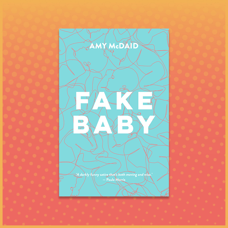 Amy McDaid Fake Baby Book Cover