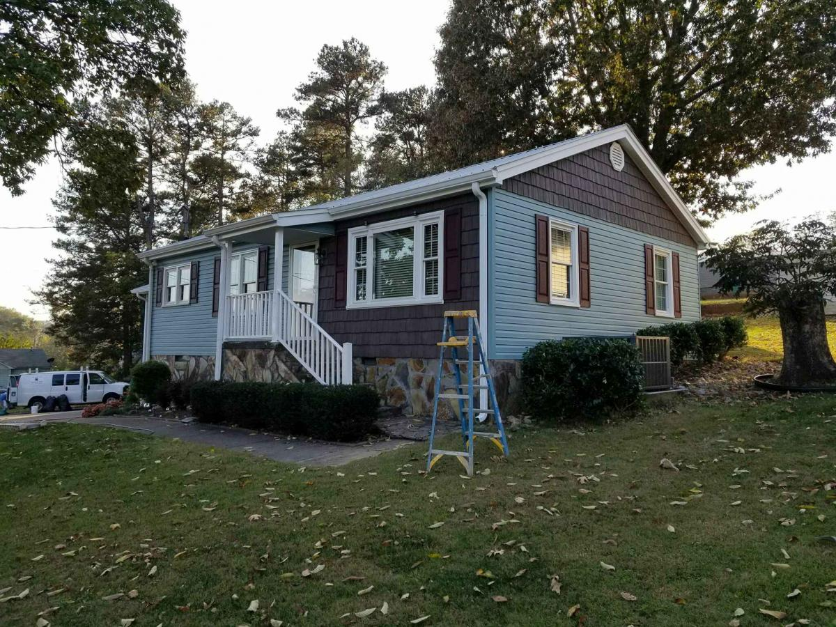 Vinyl Siding Gallery After