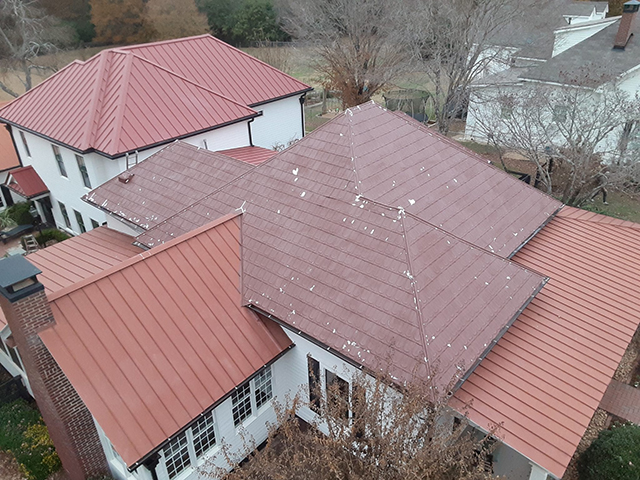 Metal Roof & Walls Gallery Before