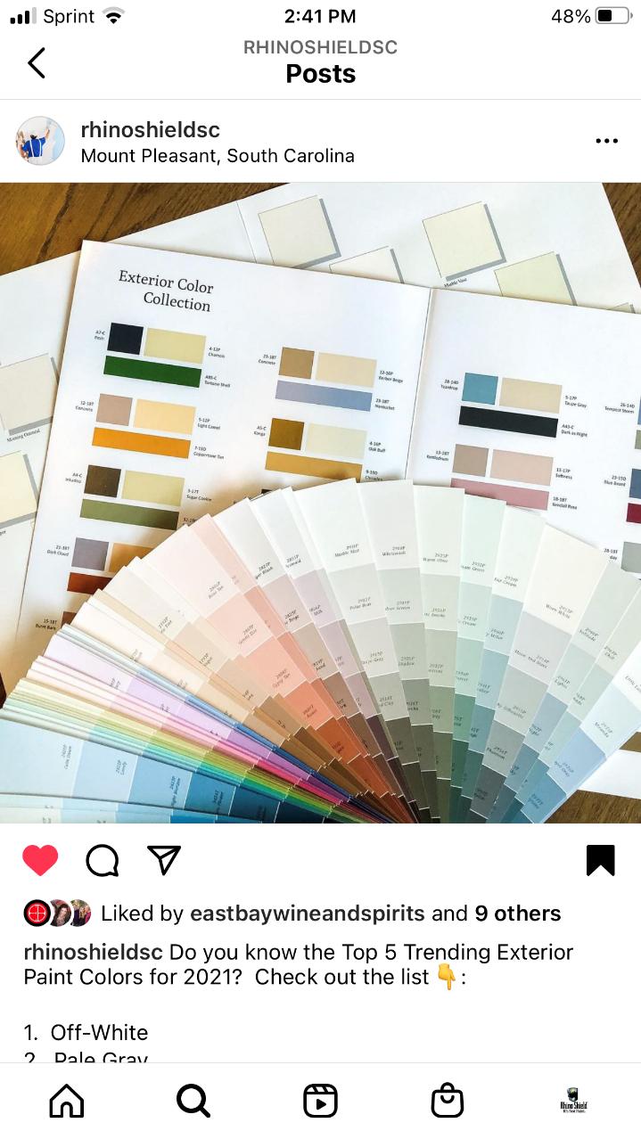 Rhinoshield SC Exterior Colors
