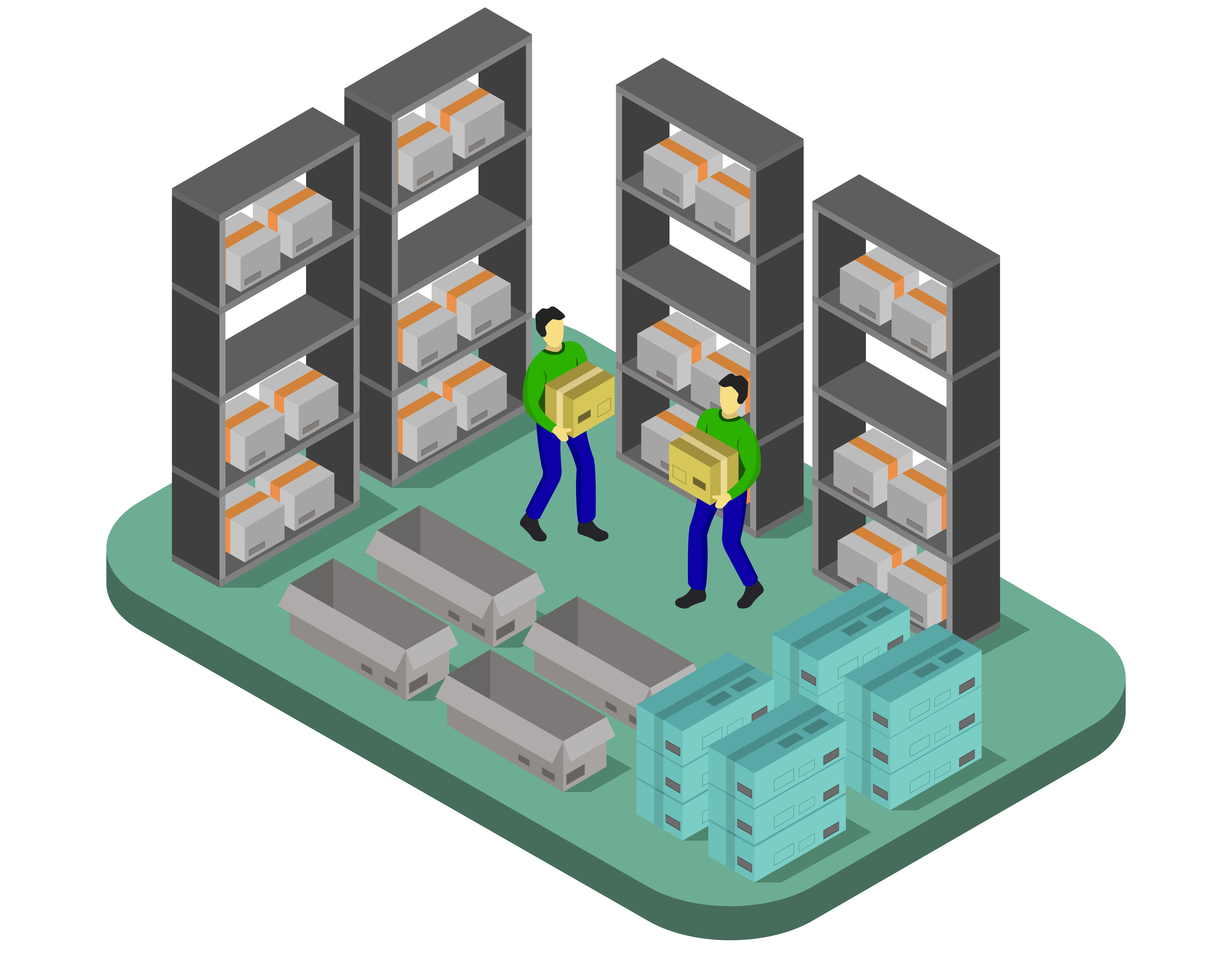 What does a fulfillment center do?