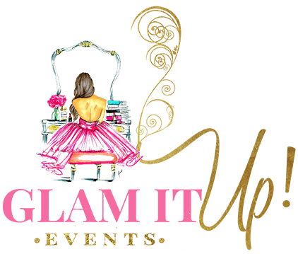 Glam It Up Events Company Logo